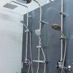 Exposición de duchas