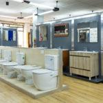 Exposición de sanitarios y lozas