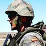Imagen de un soldado ejercito español